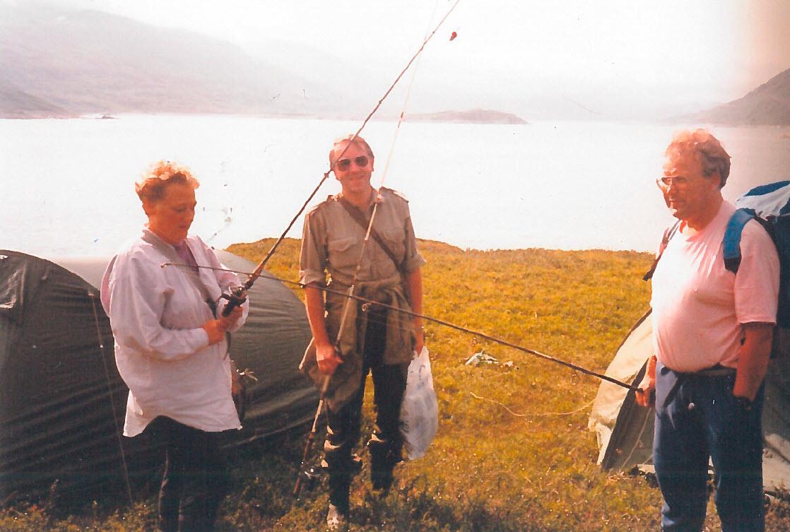 På fisketur til slonka