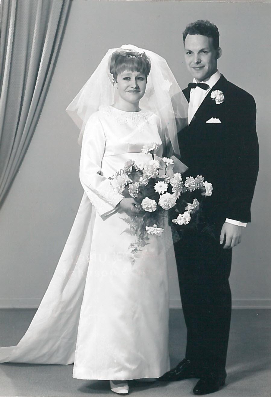 Brudebildet av mamma og pappa